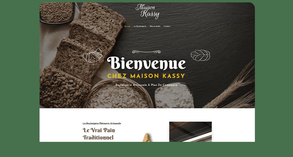 Agence communication M COM Marseille 13012 Création de site web internet et référencement publicité SEO campagne emailing maison kassy