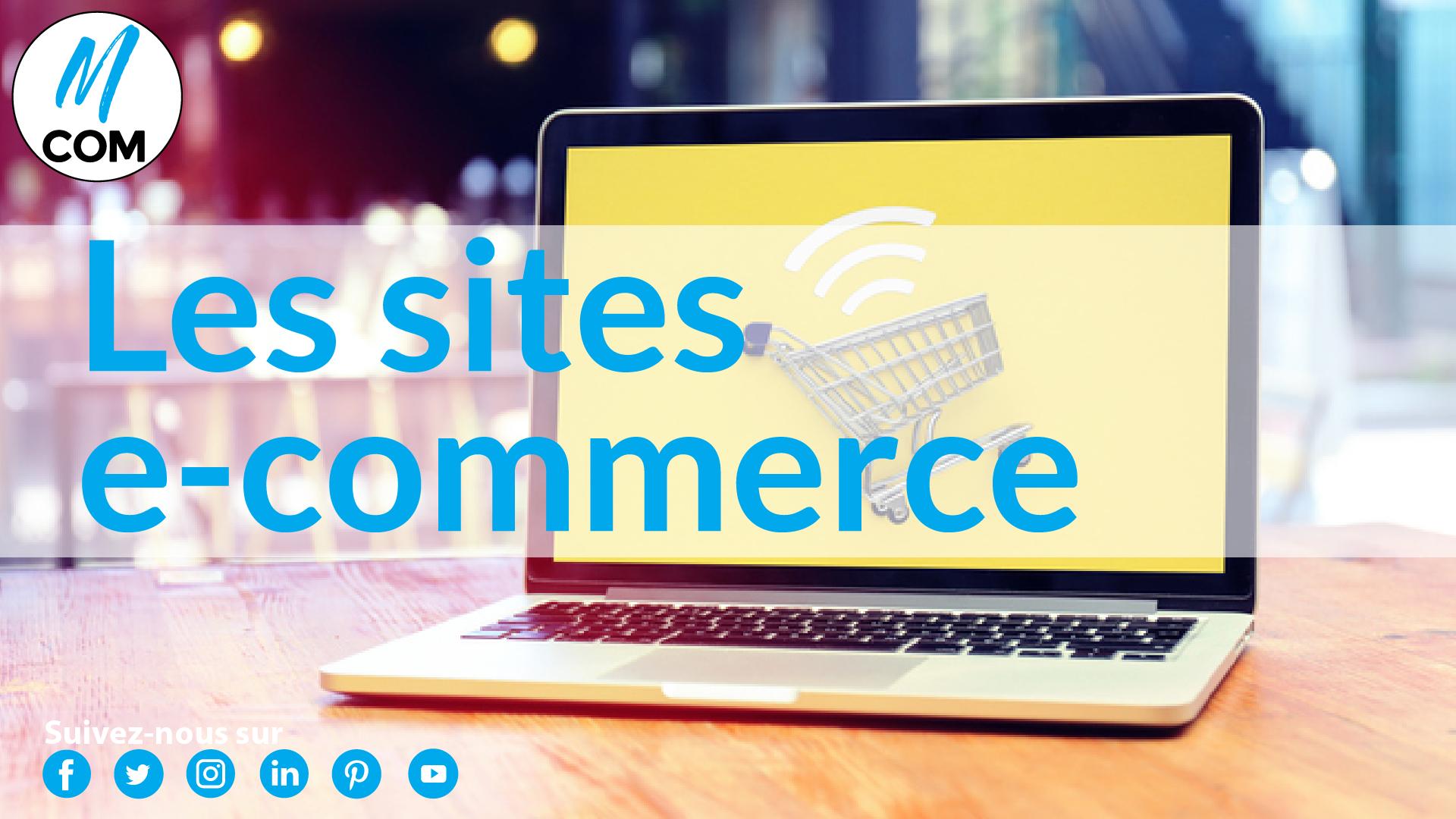E-commerce : informations clés